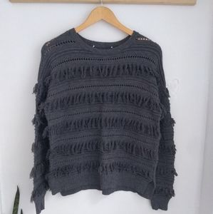 Michael Kors fringe sweater